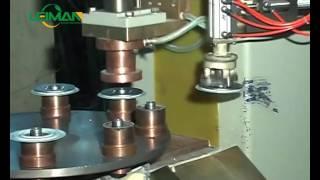 LMTN 200 8 Full-auto Turntable Bottom Plate Welding Machine