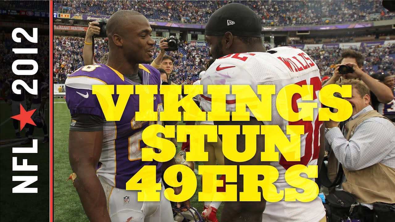 Vikings vs 49ers 2012: Niners Suffer First Loss Due to Minnesota Swarming D, Balanced Offense thumbnail