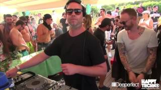 Kaiserdisco - Live @ Happy Techno 12h Festival on the Beach, Barcelona, Spain 2016