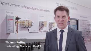 EtherCAT P: Ultraschnelle Kommunikation und Power auf einem Kabel