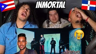 Aventura   Inmortal (Official Video) REACTION REVIEW