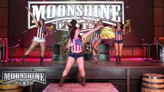 Barefoot Blue Jean Night Line Dance Tutorial | Moonshine Flats