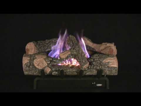 Chillbuster Evening Embers Single Burner (C7) Vent-Free Gas Log Heater