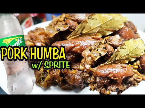 COOKING PORK HUMBA WITH SPRITE/SIMPLE AND EASY RECIPE/mishy myrnz