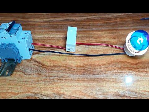 حلقة 1 - الدوائر الكهربائية للمبتدئين - كيفية التحكم فى مصباح - هيثم سعيد