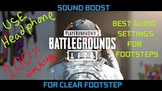 best equalizer settings for footsteps - Free video search