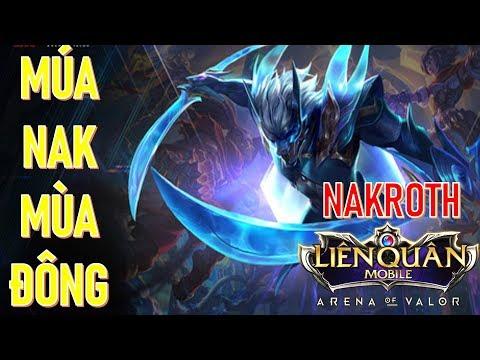 Lâm tặc Nakroth lộng hành | Nakroth mùa 9 kéo rank thần tốc Liên quân mobile