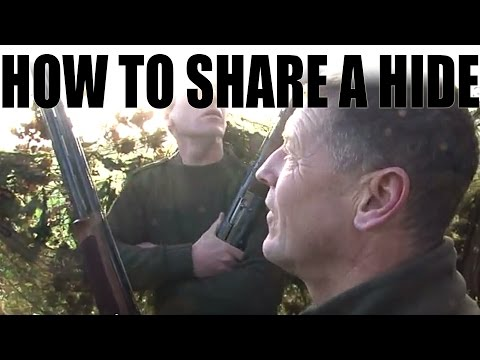 How to share a hide safely