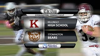Watch live: Killingly at Stonington football