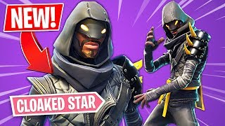 "New NINJA ""Cloaked Star"" Skin!! (Fortnite Ninja Skin Gameplay) 