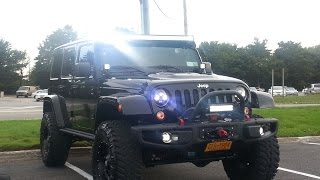 MUST SEE Lots of Mods!!! 2015 Jeep Wrangler Unlimited Rubicon HARD ROCK Edition