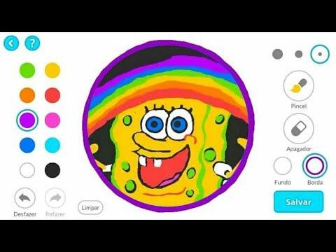 Agario Mobile Creating The Best Skin Gameplay Sponge Bob