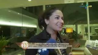 Джованна Антонелли, Giovanna Antonelli escolhe o nome das gemeas