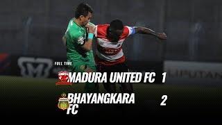[Pekan 28] Cuplikan Pertandingan Madura United FC vs Bhayangkara FC, 22 November 2019