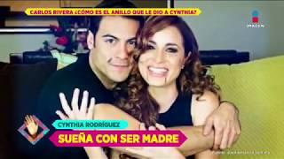 ¿Carlos Rivera ya le dio anillo a Cynthia Rodríguez? | De Primera Mano