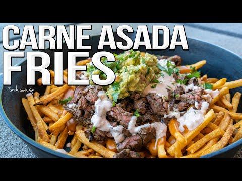 Carne Asada Fries Recipe   SAM THE COOKING GUY 4K