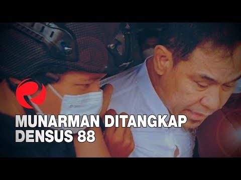 Munarman Ditangkap Densus 88
