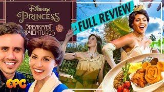 WOW!! Disney Princess Breakfast Adventures at Disneyland!