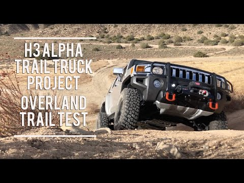 ✇ H3 Alpha Trail Truck - Offroad Trail Test