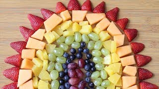 Make A Rainbow Fruit Platter For Your ACOFAS Party!