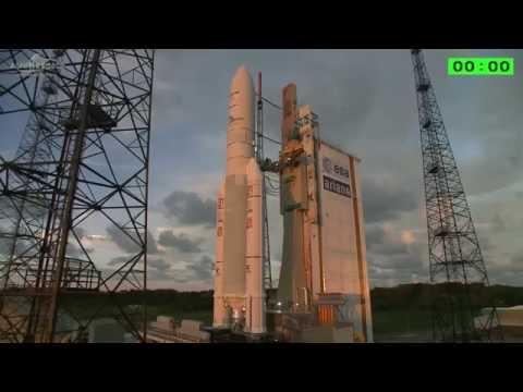 Detik Peluncuran BRIsat 19 Juni 2016