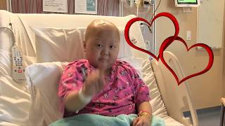 9-Year-Old Sings 'Fight Song' in Hospital