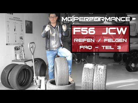 MG|Performance - F56 JCW | FAQ Reifen / Felgen - Teil 3