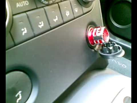 Purificador ionizador de aire para coche