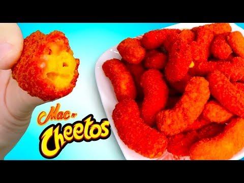 TRYING FLAMIN' HOT MAC N' CHEETOS! - Fried Cheeto Mac N' Cheese Taste Test!