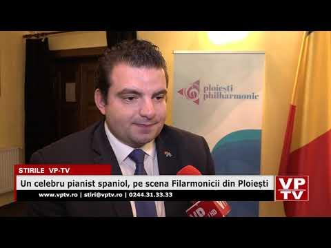 Un celebru pianist spaniol, pe scena Filarmonicii din Ploiești
