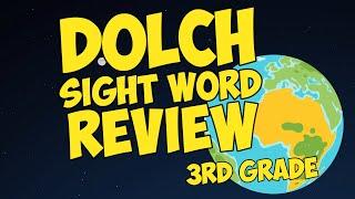 Dolch Sight Word Review | Third Grade | Jack Hartmann