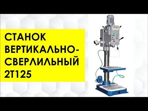 Станок вертикально-сверлильный 2Т125