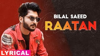 RATTAN SONG LYRICS BILAL SAEED