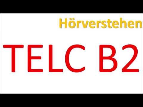 TELC B2 - Hörverstehen mit Lösungen