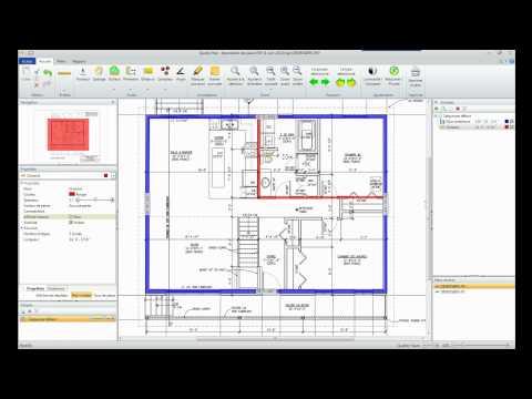 Mesurer murs et cloisons avec le logiciel de métré Quoter Plan