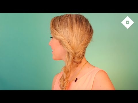 How to: Music Festival-Inspired Faux Fishtail Braid Tutorial