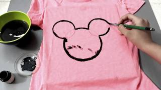 DIY Disney Inspired T-shirt