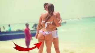 KISSING GIRLS in BIKINI! Social Experiment