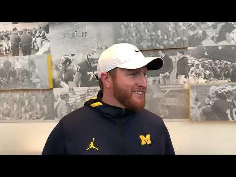 Jay Harbaugh on Wednesday of Indiana Week