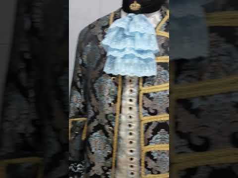 Nero Small Costume Capitano Pirata Widmann WDM59111