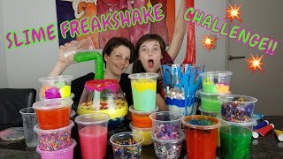 SLIME FREAKSHAKE CHALLENGE MET TOBIAS - Bibi - Video Youtube