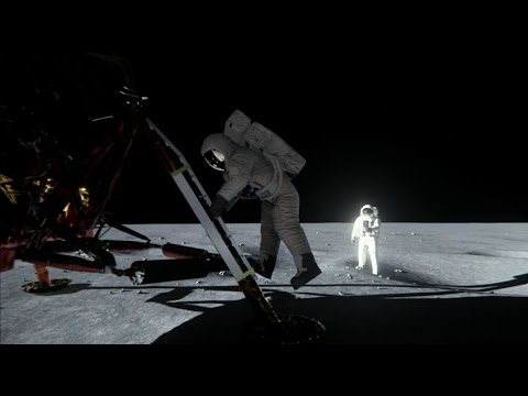 NVIDIA Debunks Moon Landing Myths Using A Game Engine And Its New GPUs