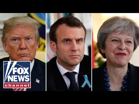US, France and UK weighs strikes on Syria