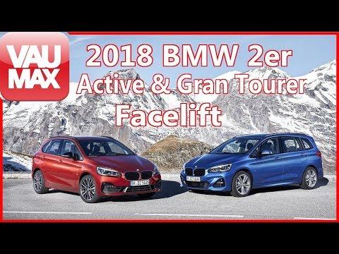 Facelift für den 2018er BMW 2er Active & Gran Tourer