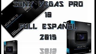 Descargar/Instalar Sony Vegas Pro 10 Full Español X32/x64bits Win XP,7/8/8.1/10