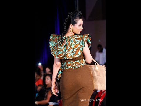 Fashion Designer Fely Tchaco Opener for Fashion on the Square