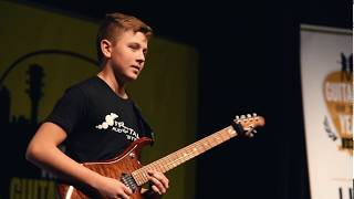 Young Guitarist of the Year 2018 winner Hunter Hallberg