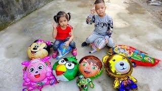 Trò Chơi Bóng Bay Thần Kì - Tạo Hình Con Vật - Bé Nhím TV - Đồ Chơi Trẻ Em Thiêu Nhi