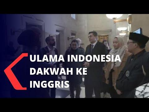 Semai Kemajemukan dan Harmoni, Ulama Indonesia Dakwah ke Inggris