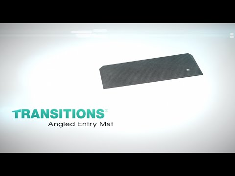 Thumbnail of the Product Overview - TRANSITIONS® Angled Entry Mat | EZ-ACCESS video